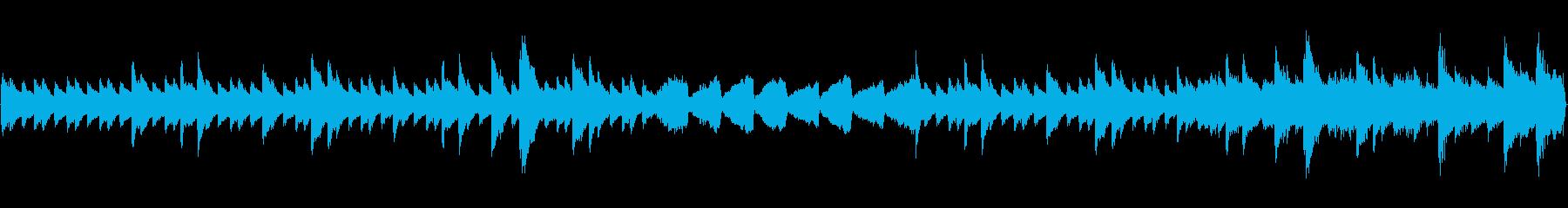 ミステリーホラーピアノオーケストラループの再生済みの波形