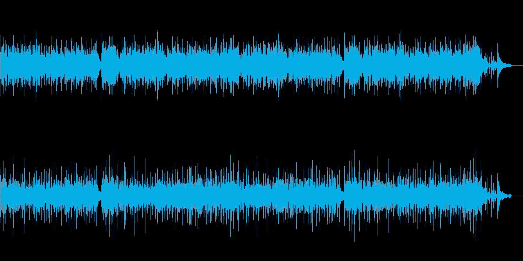きよしこの夜のピアノ版アレンジですの再生済みの波形