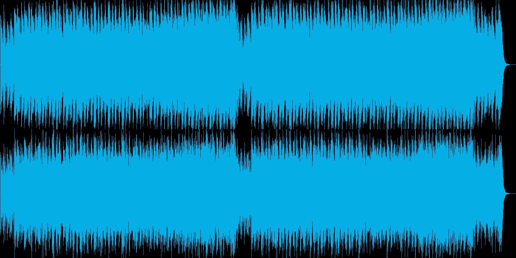 和楽器中心の幻想的で迫力のあるオリジナルの再生済みの波形