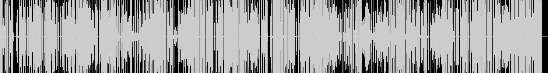 かわいらしくポップな電子音楽の未再生の波形