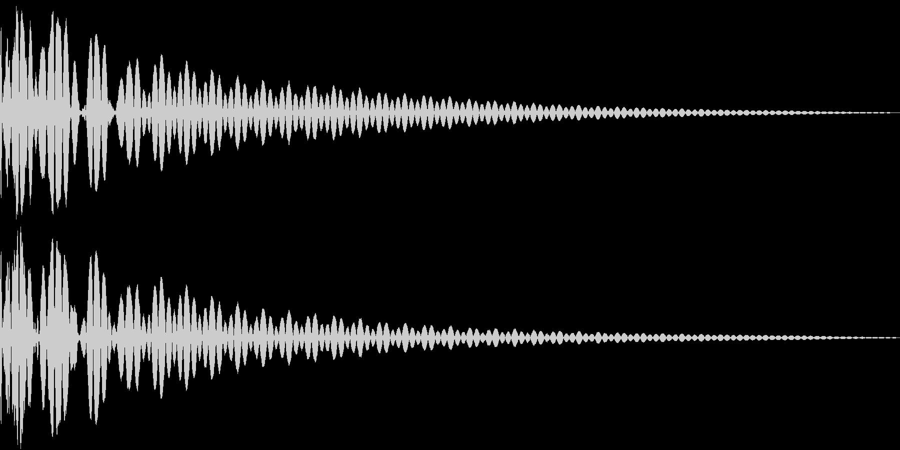 DTM Tom 38 オリジナル音源の未再生の波形