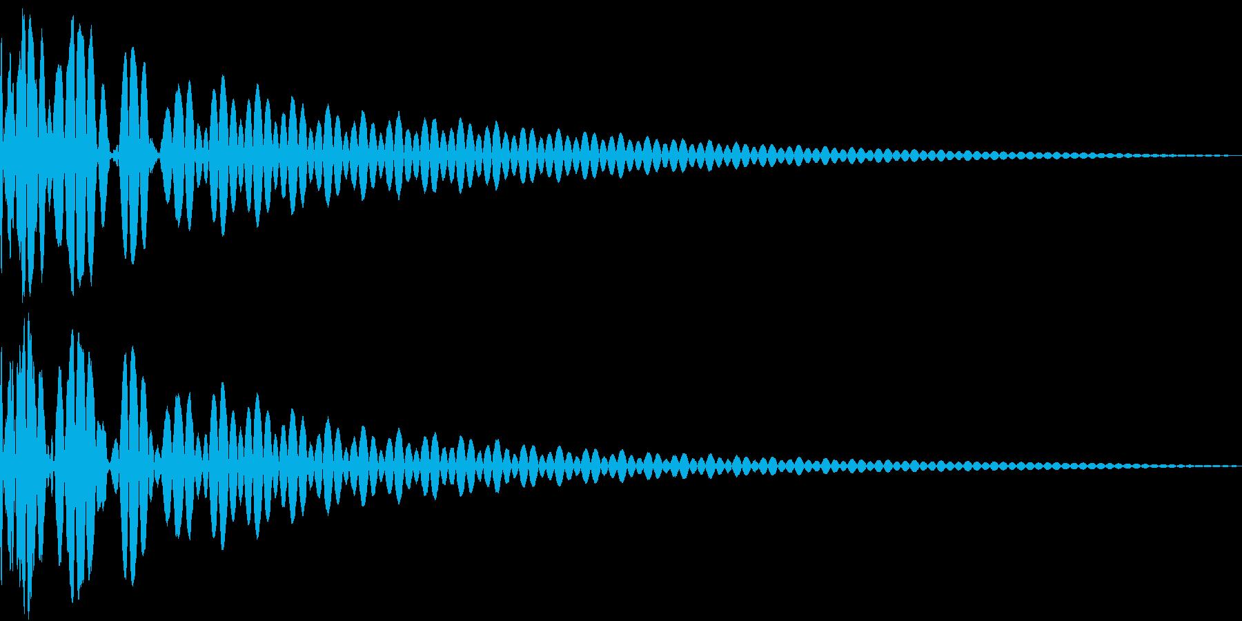 DTM Tom 38 オリジナル音源の再生済みの波形