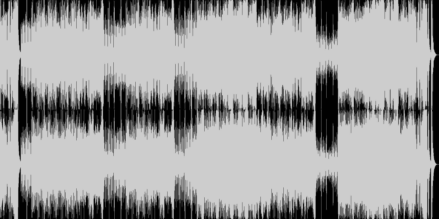 オープニング行進オーケストラ企業VPの未再生の波形