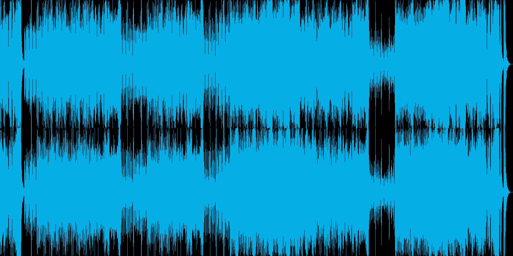オープニング行進オーケストラ企業VPの再生済みの波形