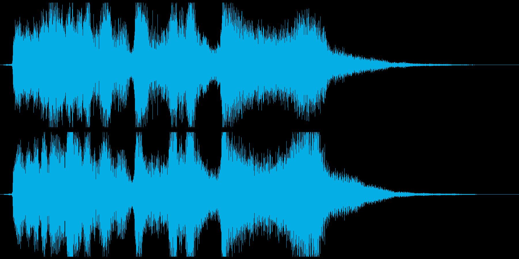 大正ロマン&タンゴ・マイナーの再生済みの波形