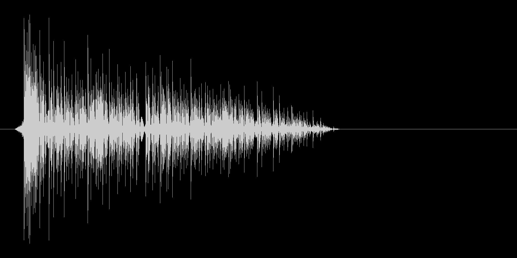 ゲーム(ファミコン風)爆発音_035の未再生の波形