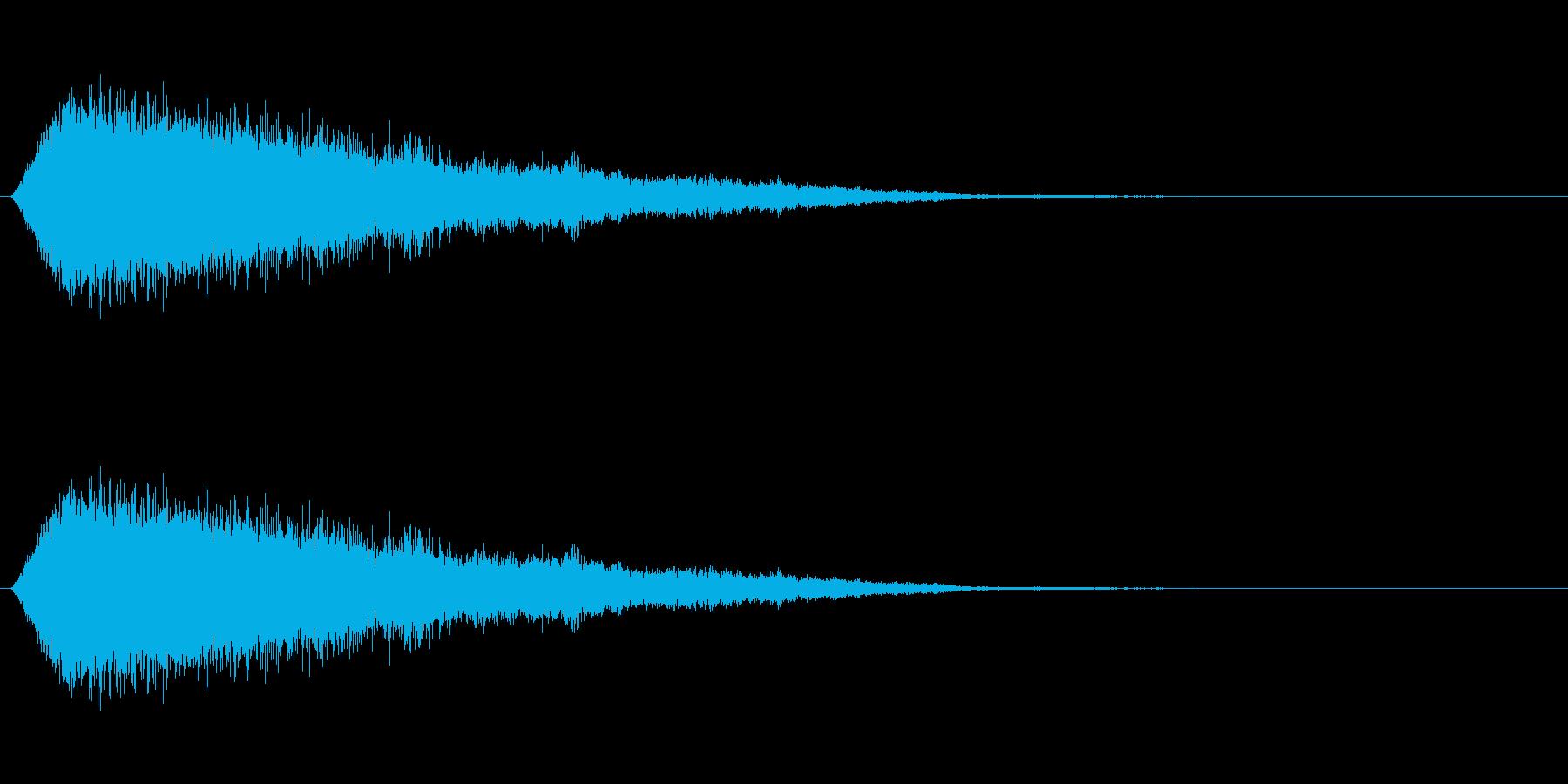 詠唱(詠唱者が輝く)の再生済みの波形