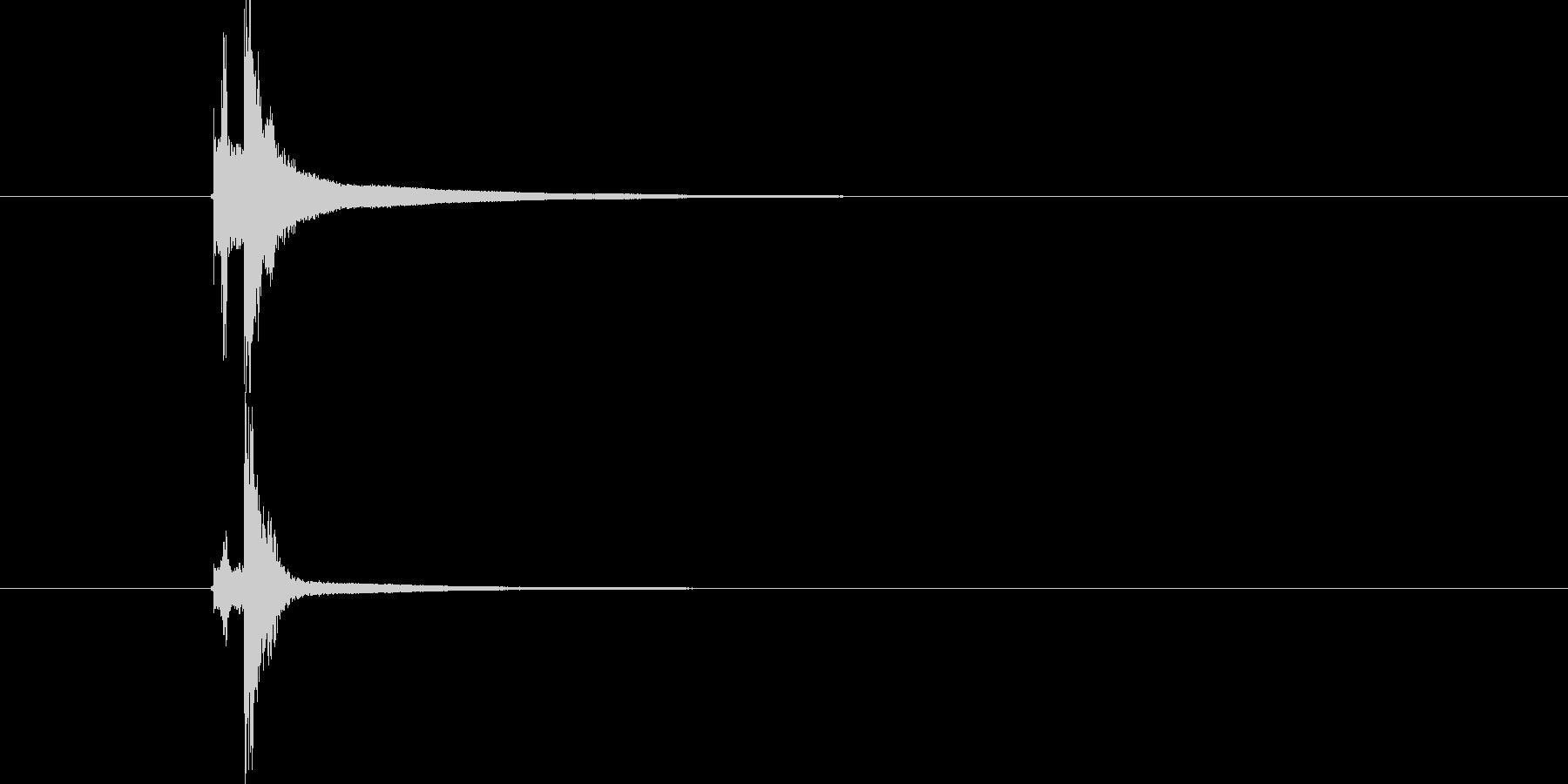 タンバリン トライアングル (すちーん)の未再生の波形