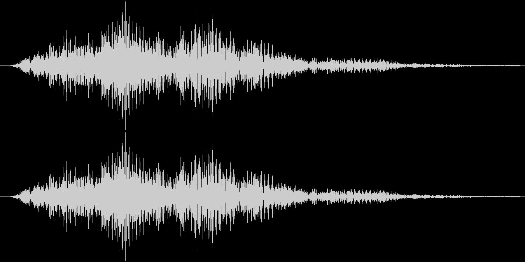 サウンドロゴ23の未再生の波形