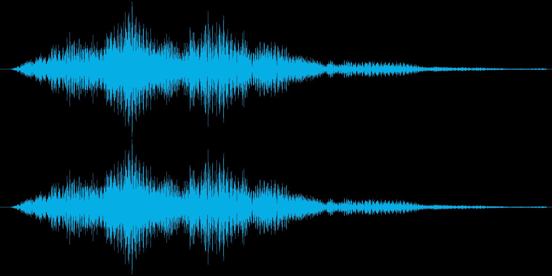 サウンドロゴ23の再生済みの波形