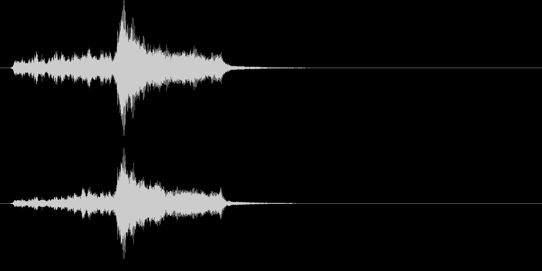 ジングル(クラシカル風)の未再生の波形
