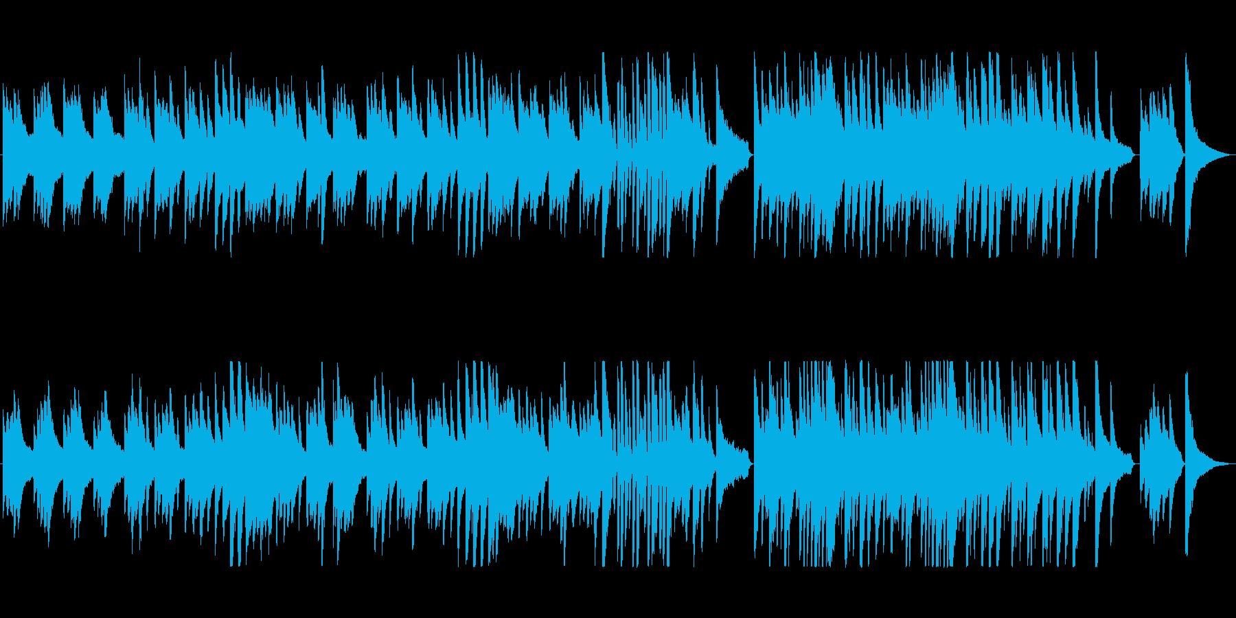 しっとり感動系ピアノポップスの再生済みの波形