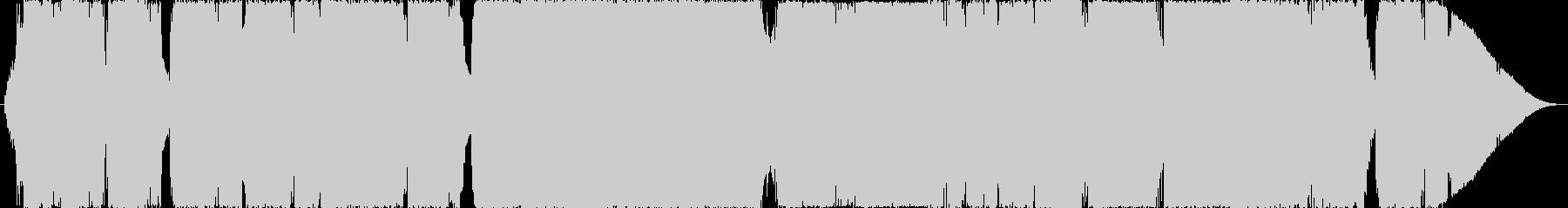 昔のRPGの戦闘・バトルシーンのBGM…の未再生の波形