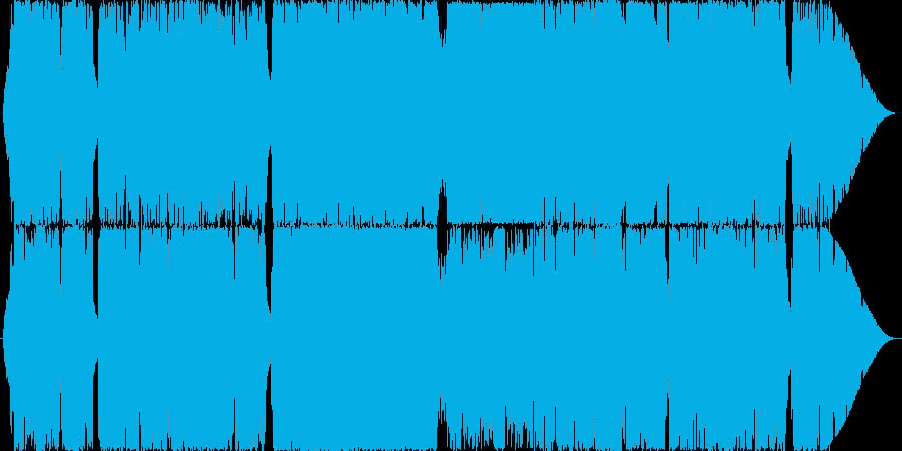 昔のRPGの戦闘・バトルシーンのBGM…の再生済みの波形