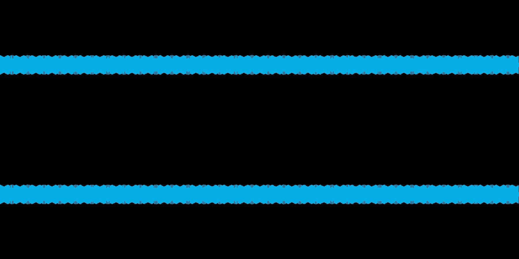 放送禁止用語のかぶせ音の再生済みの波形
