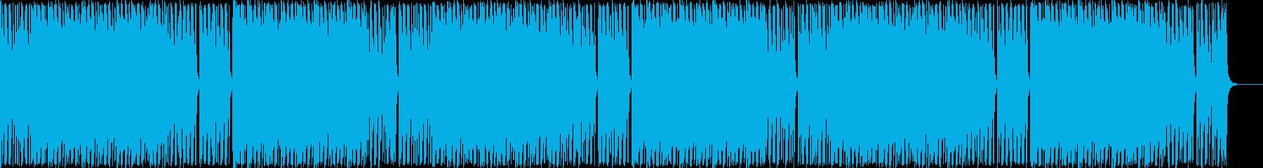 荘厳な感じのインストの再生済みの波形