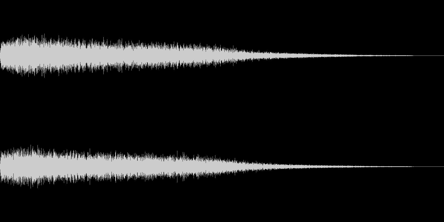 [ピシュオーン]魔法、反射(鋭く長い)の未再生の波形