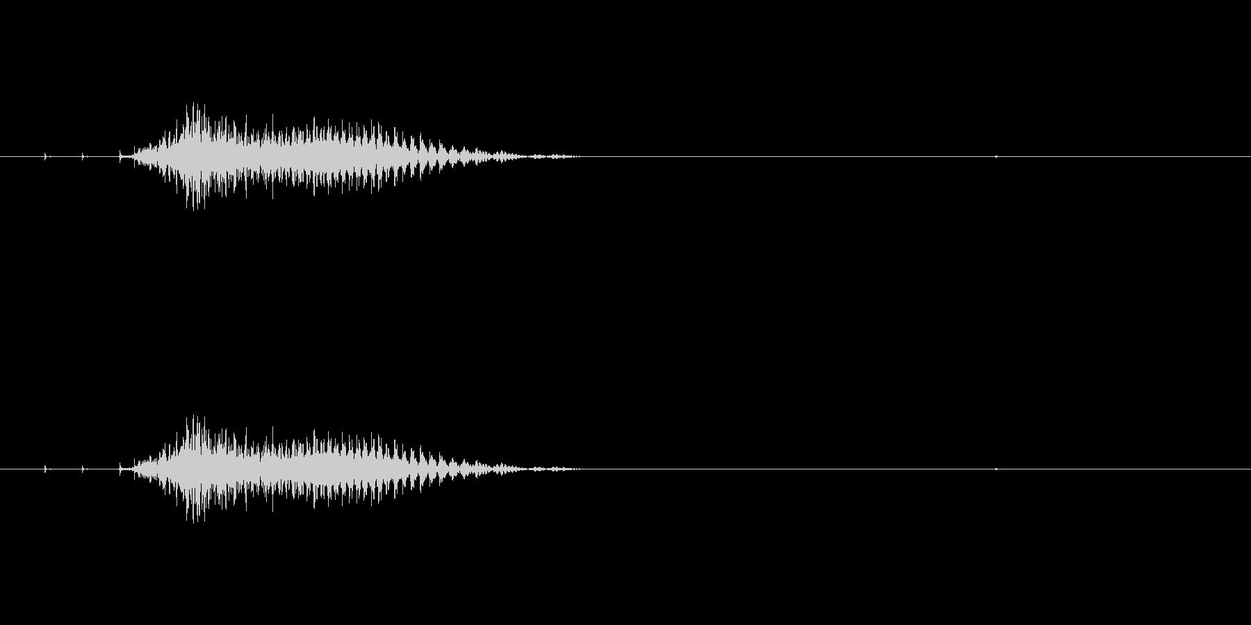 チー(麻雀)の未再生の波形