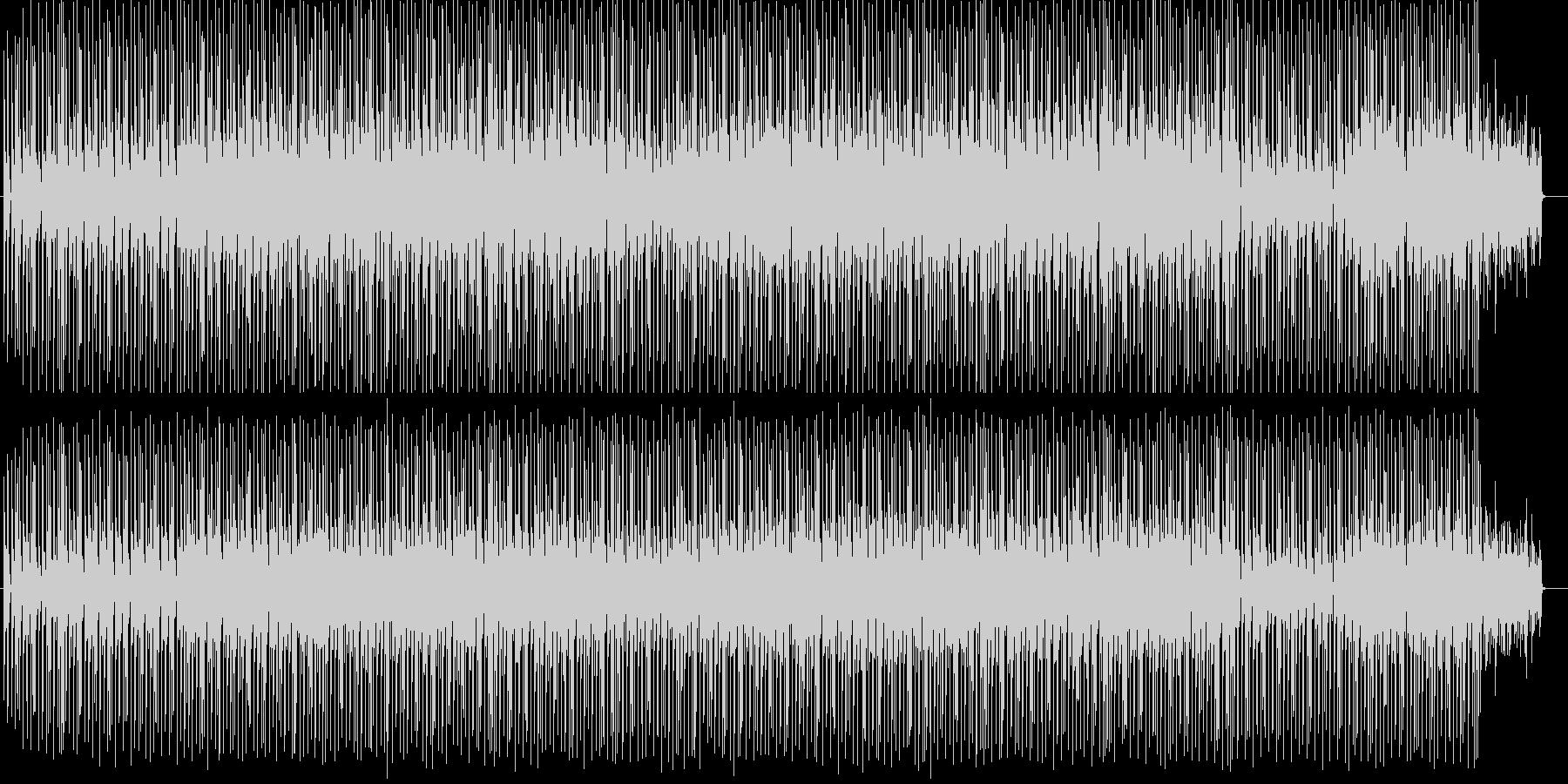 楽しいリズムシンセサイザーサウンドの未再生の波形