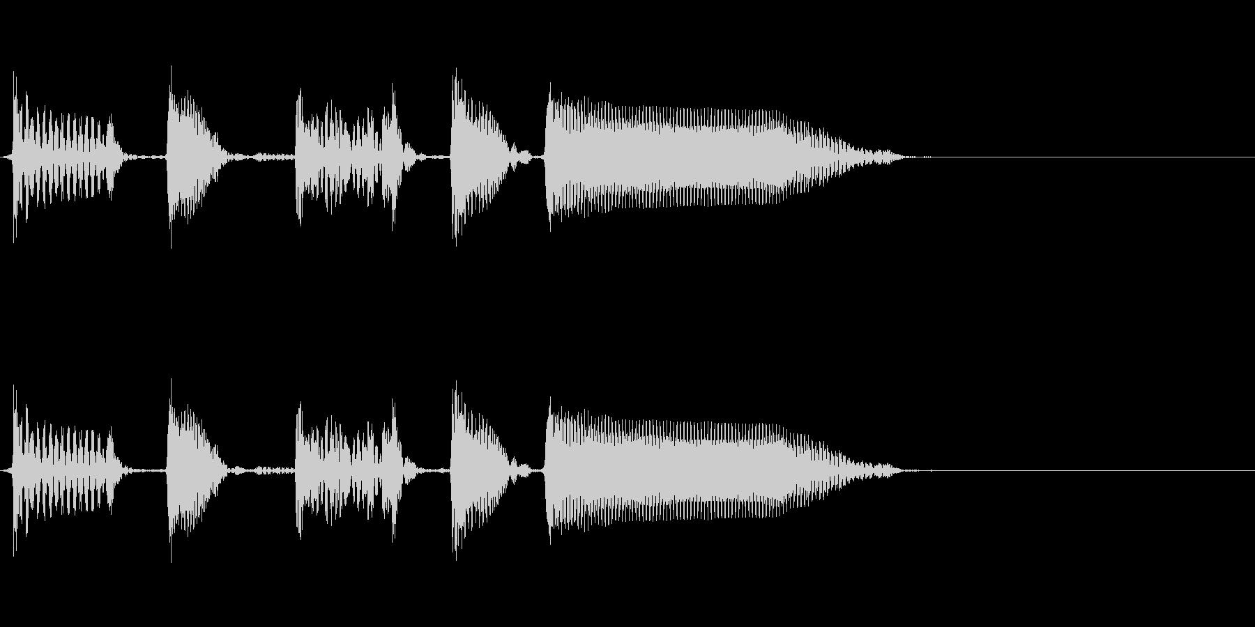 Bassジングル1/スラップの未再生の波形