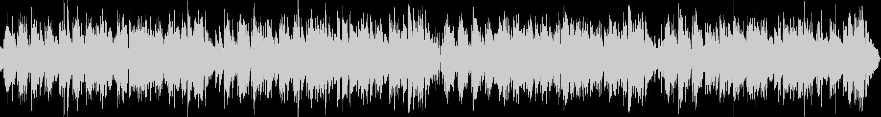 ループ2台のピアノ生演奏ハッピーブルースの未再生の波形