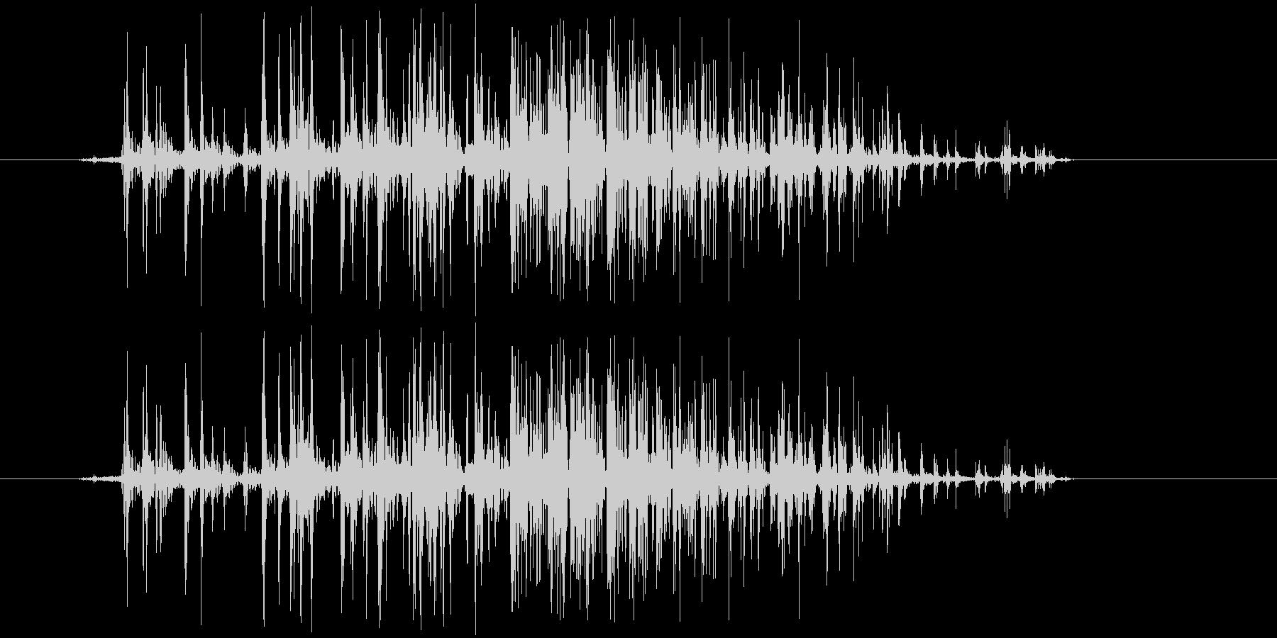ベリ(ベルクロ)の未再生の波形