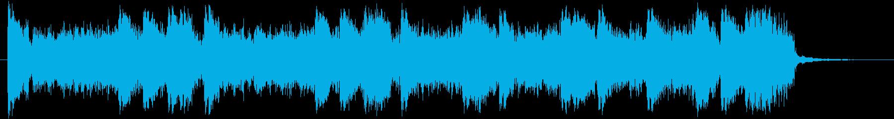 ロシア風パワフルトランスロゴ!の再生済みの波形