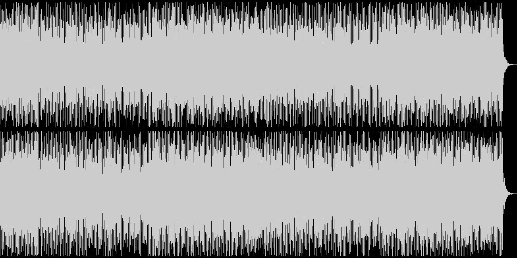 ライブでのSEなどに使えるポップなBGMの未再生の波形