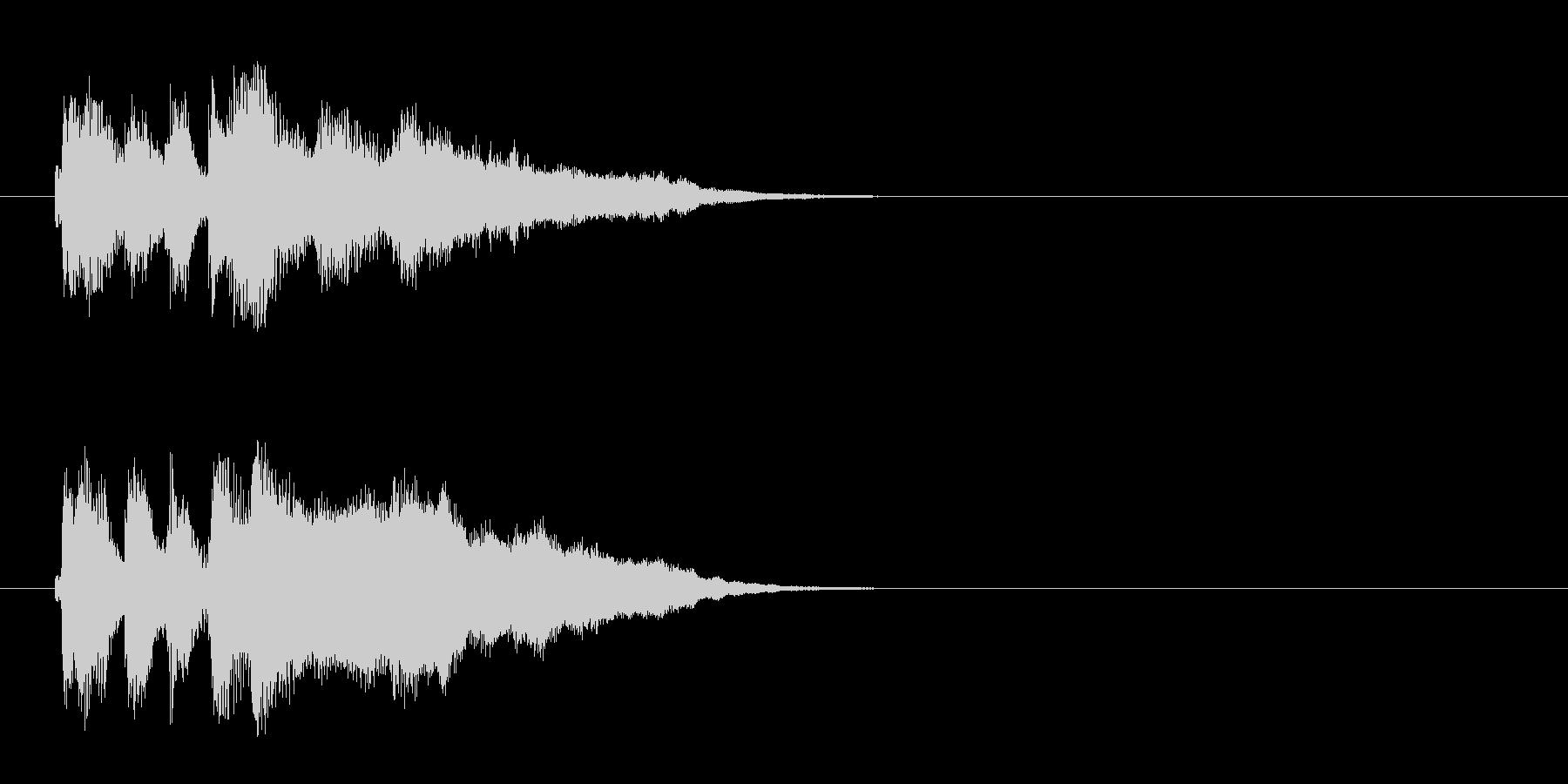 ジングル/環境(コーナー・エンド風)の未再生の波形