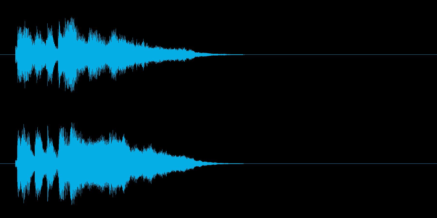 ジングル/環境(コーナー・エンド風)の再生済みの波形