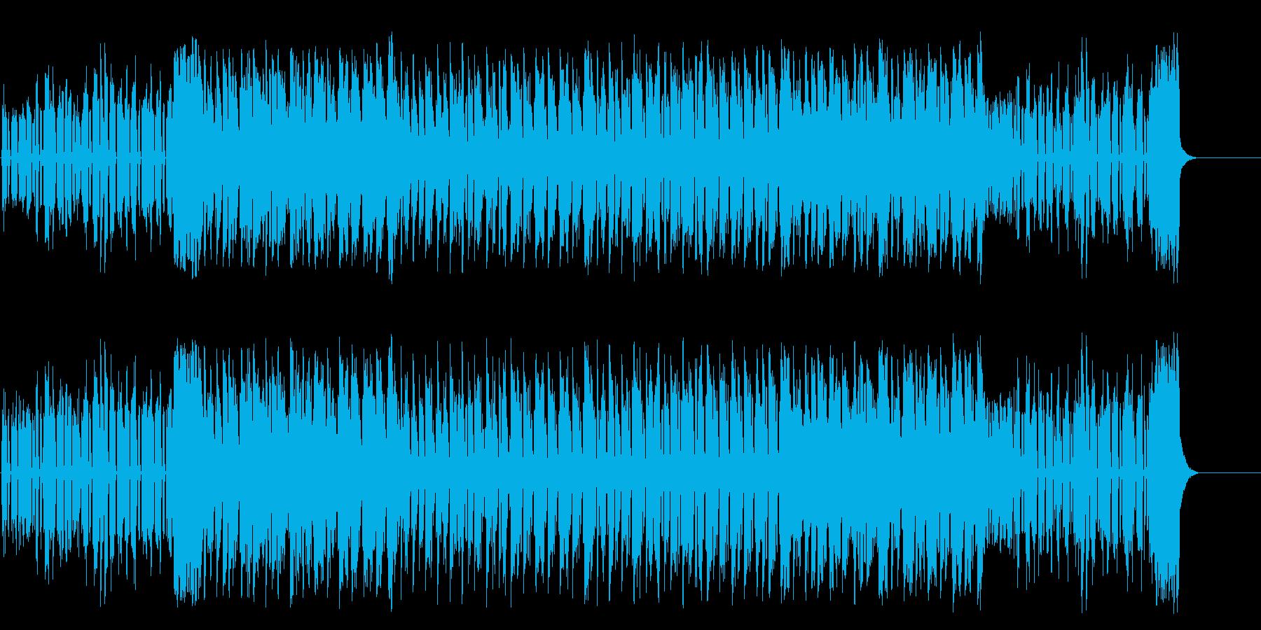 闇を徘徊するマイナーテクノポップの再生済みの波形