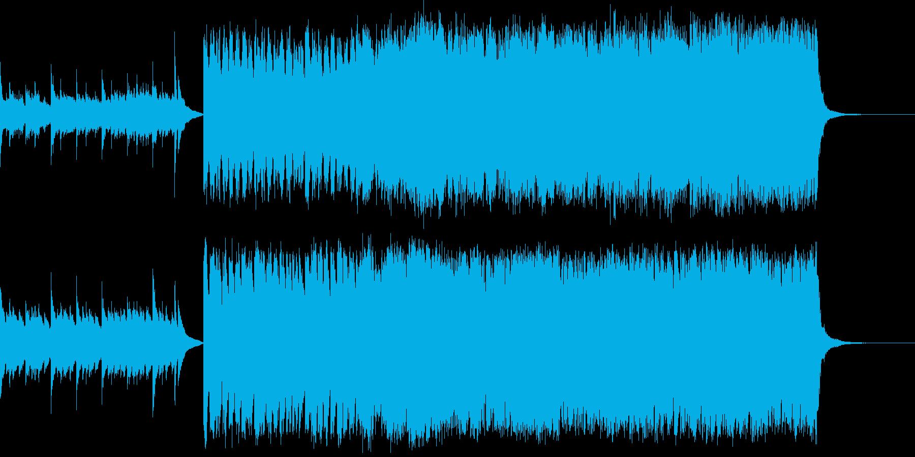 ショートストーリー/優しいポップの再生済みの波形