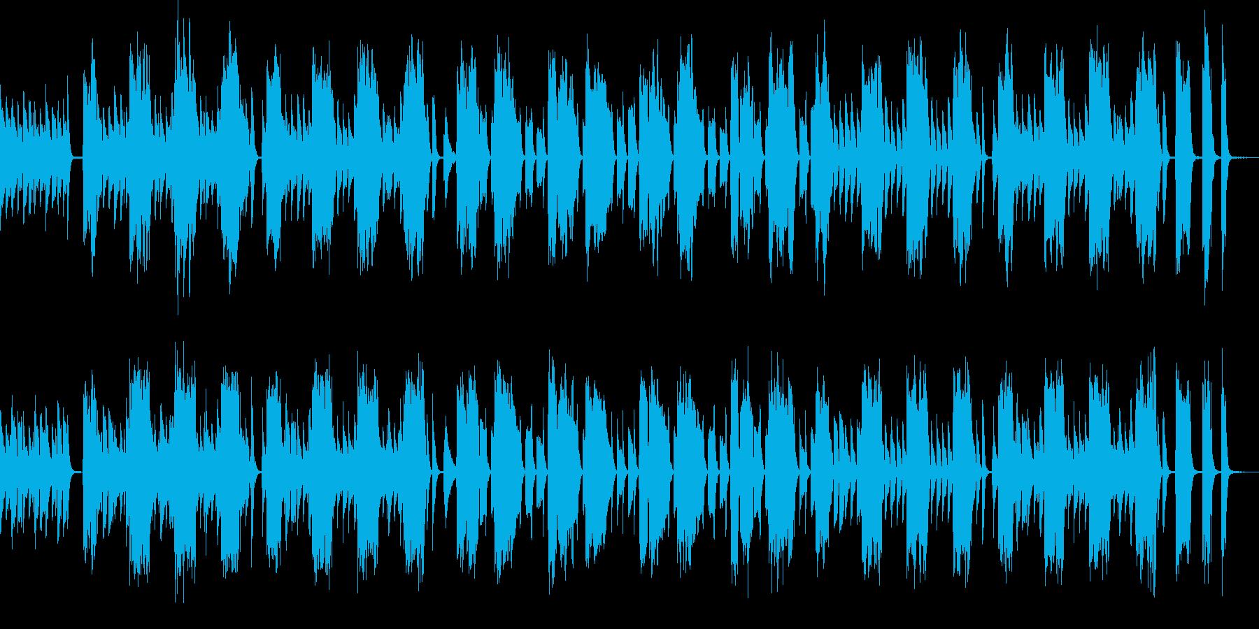 呑気かつ間の抜けたバスクラとピアノの再生済みの波形