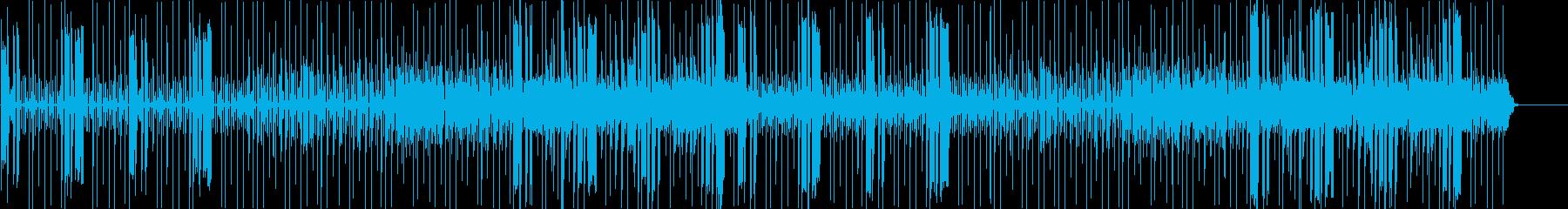 キャラがボケた時に使う曲の再生済みの波形