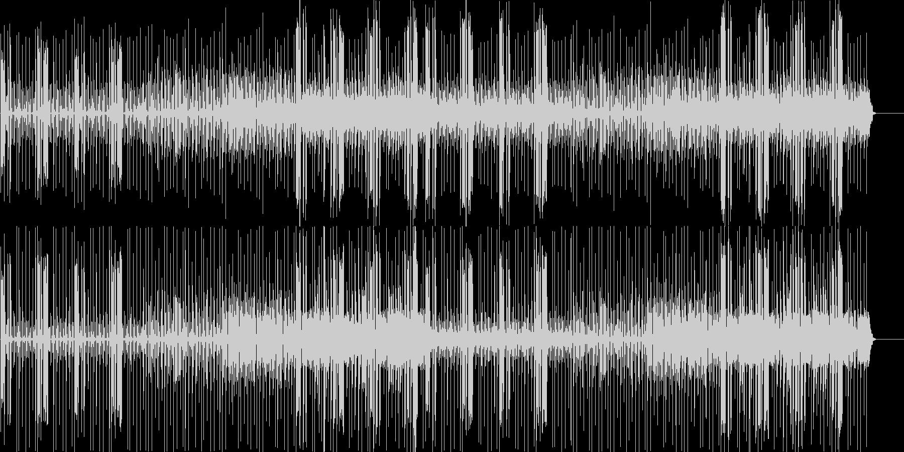 キャラがボケた時に使う曲の未再生の波形