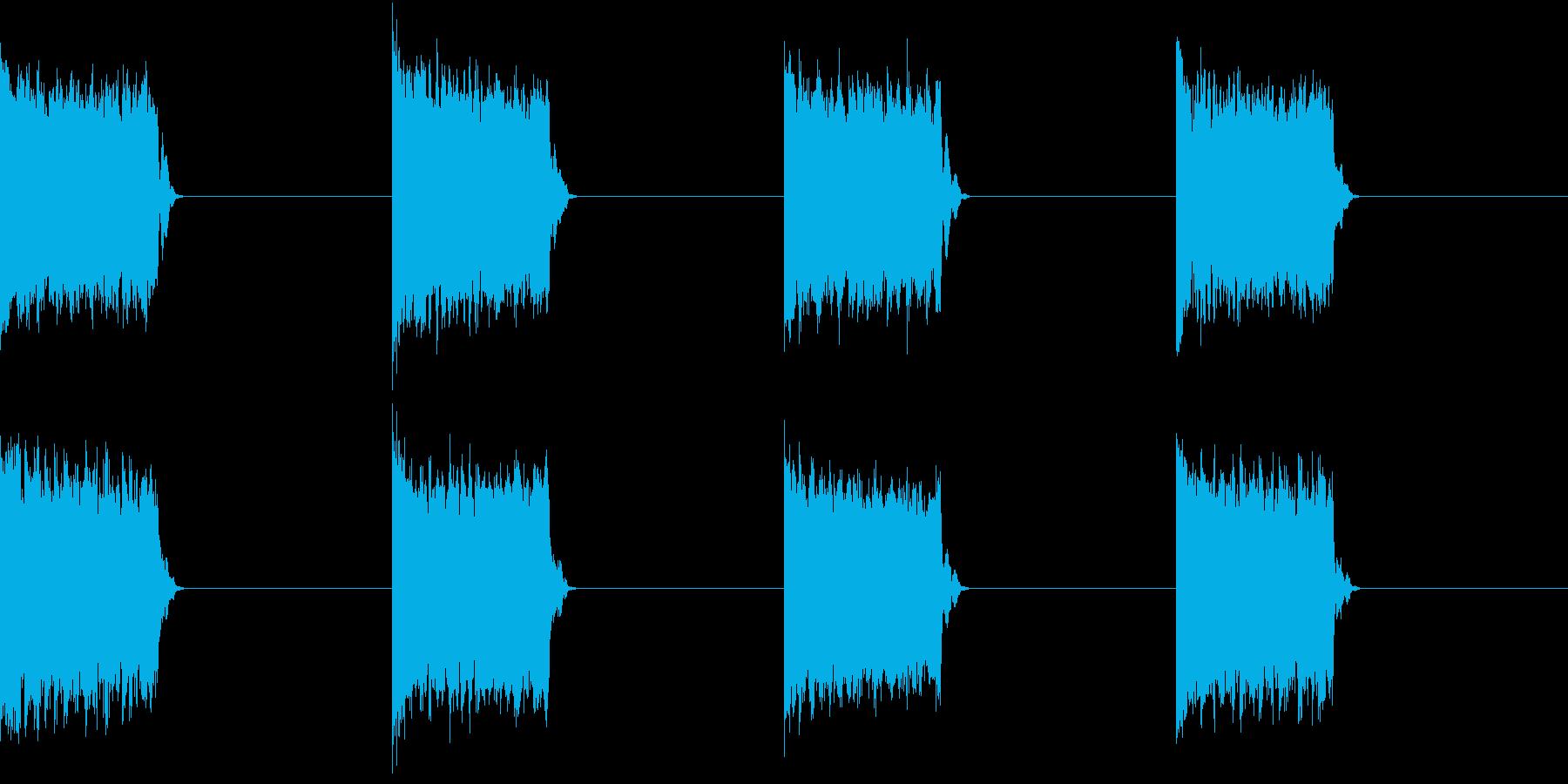 電話 呼び出し音 一般固定電話 故障気味の再生済みの波形
