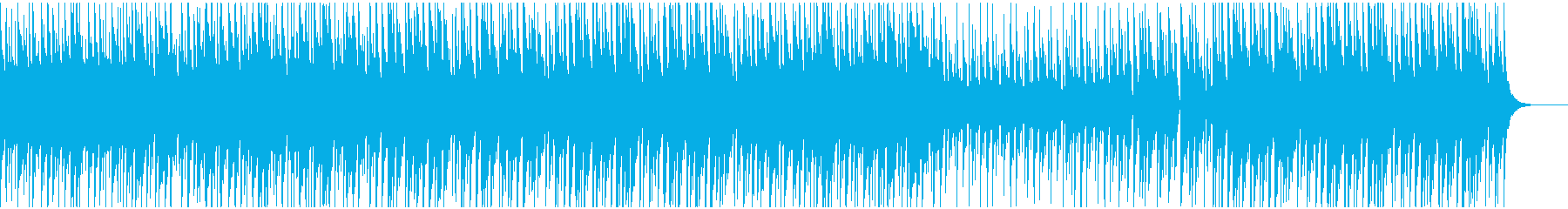 映像BGM かわいいけどしっかりサウンドの再生済みの波形