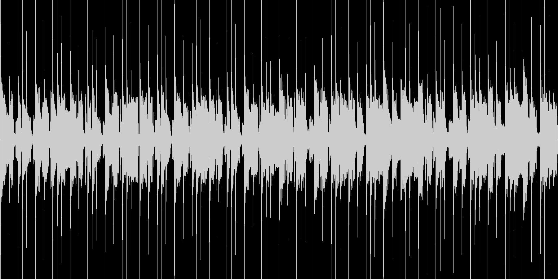 クイズゲーム向けの約40秒ループ曲の未再生の波形