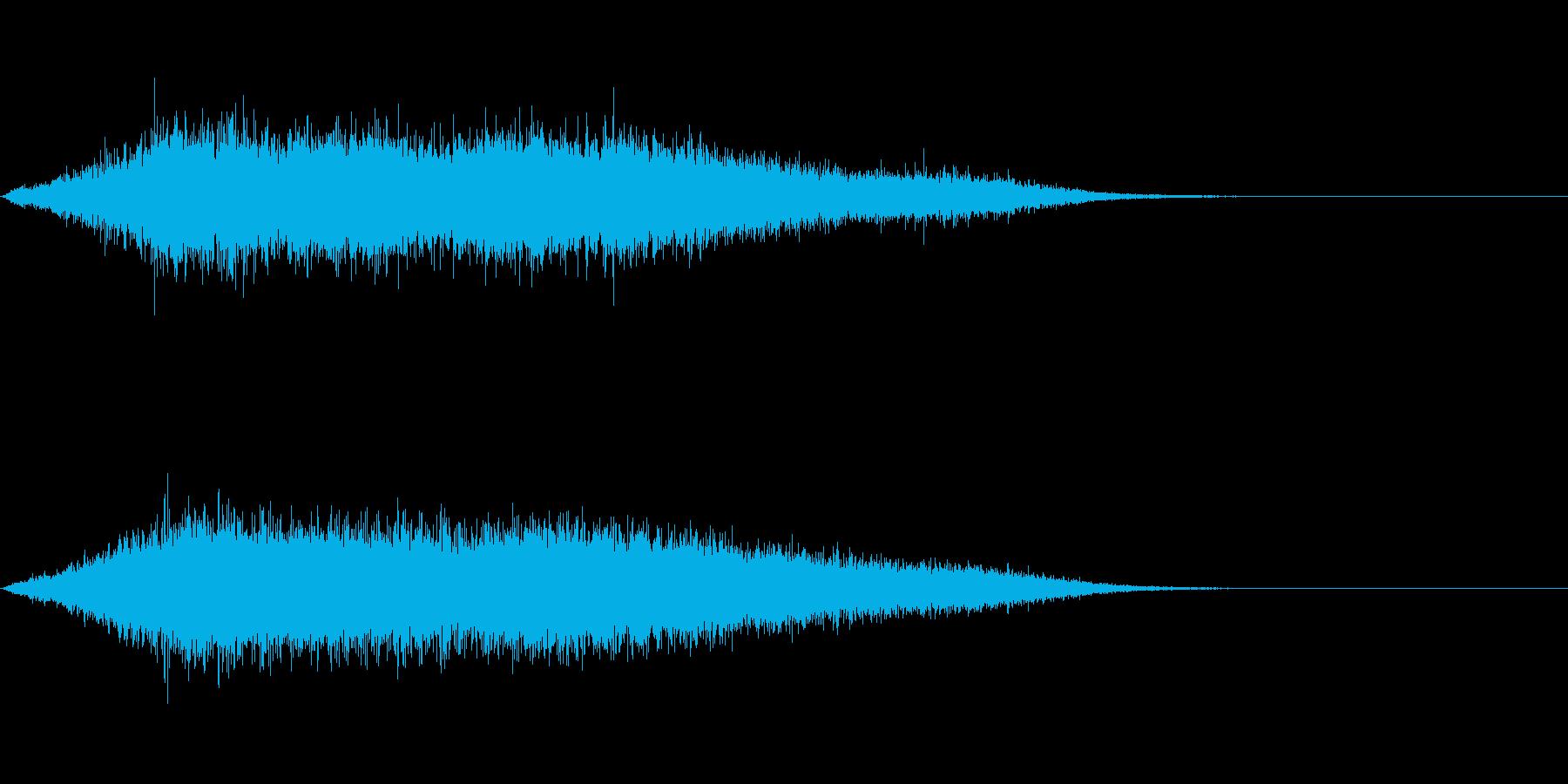 歓声6 (スタジアムなどの大歓声6)の再生済みの波形