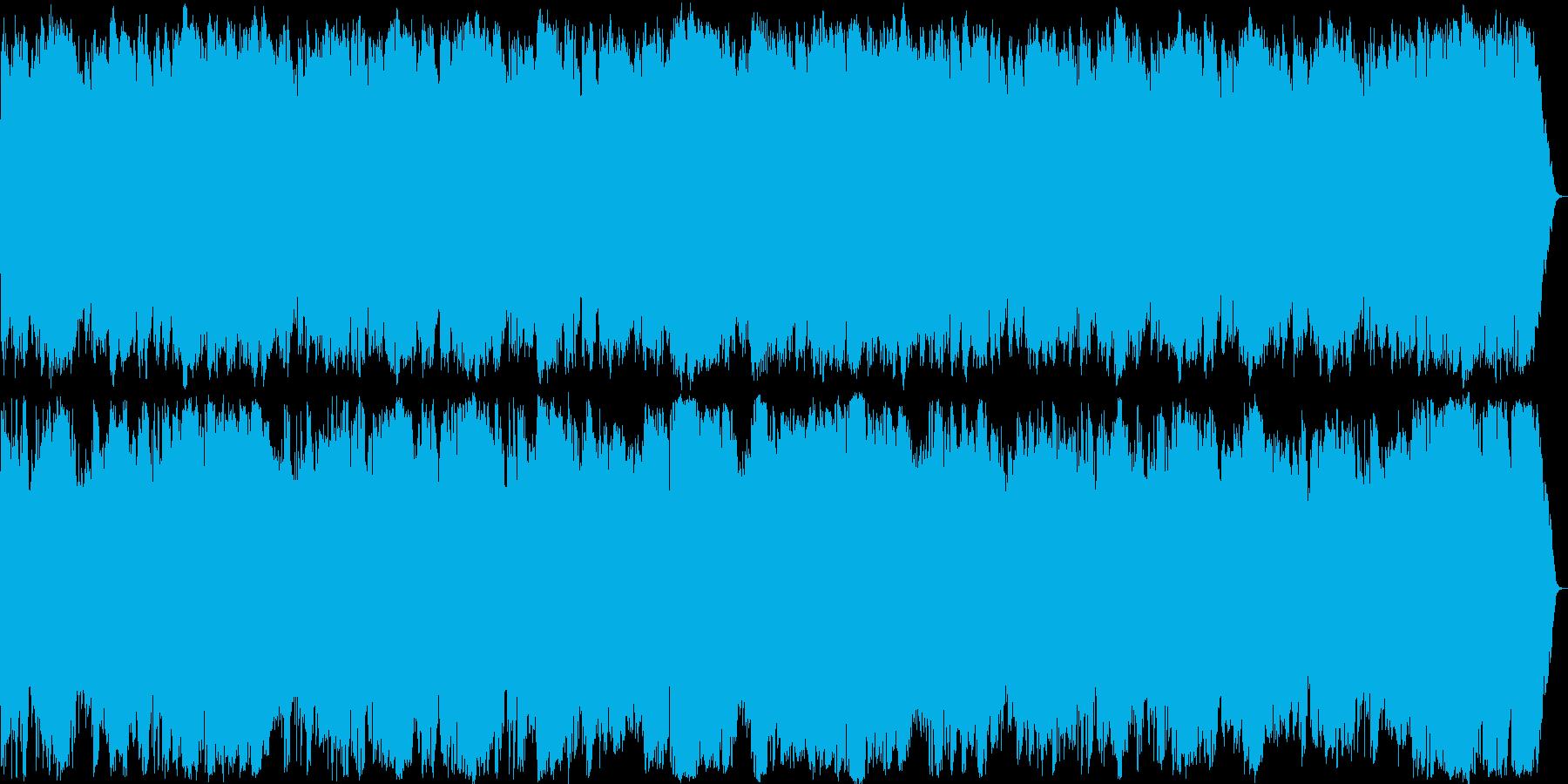 アメリカ南部のゴーストタウンのイメージの再生済みの波形