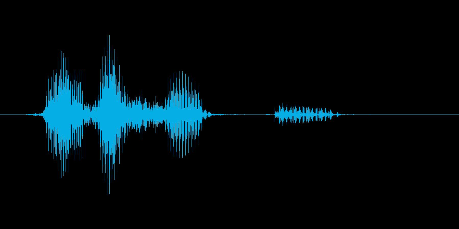 フルセットの再生済みの波形