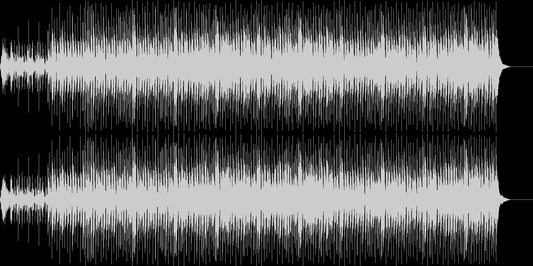 耳馴染みのCMのBGM的ポップスの未再生の波形