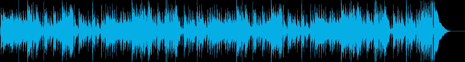 日常シーンに合うスタンダートなブルースの再生済みの波形