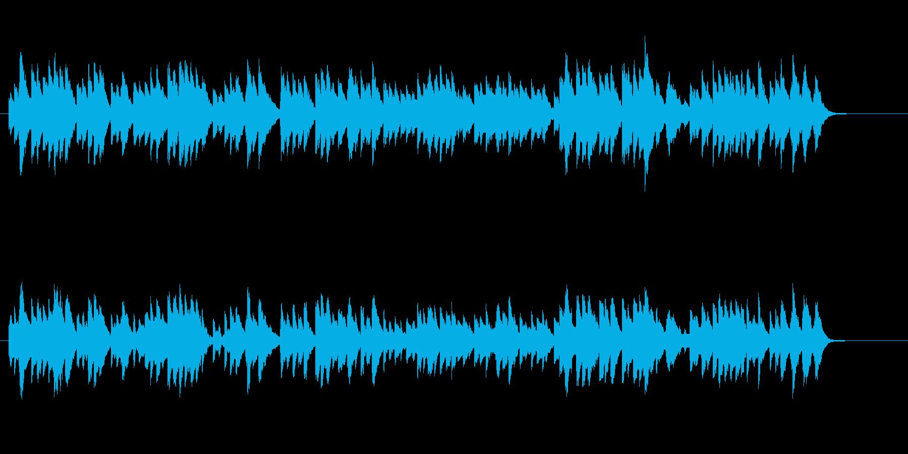ジュピター/オルゴール風ヒーリング、映像の再生済みの波形