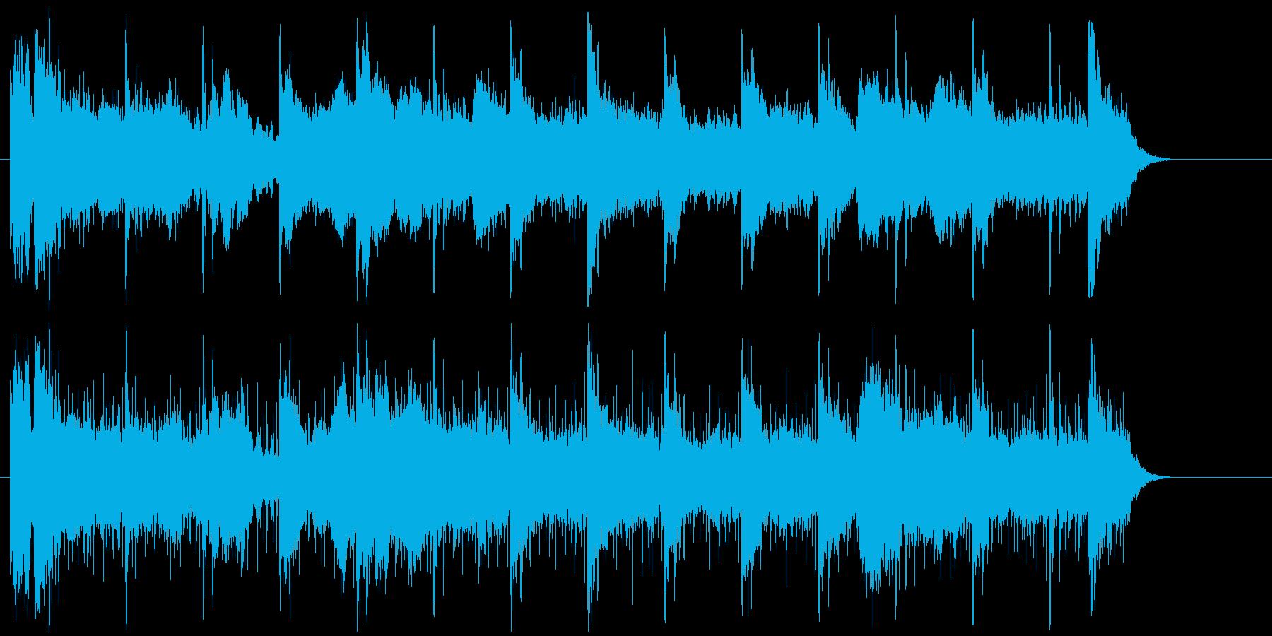 サスペンス 恐怖 闇 悲惨 重苦しい 謎の再生済みの波形