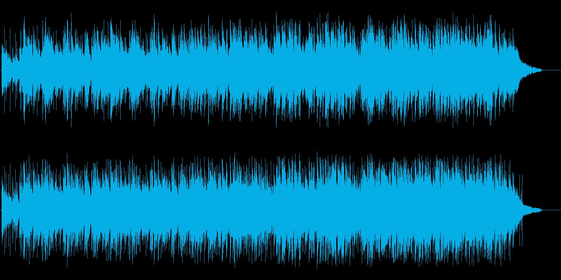 人恋しいニュー・ミュージック風ポップスの再生済みの波形
