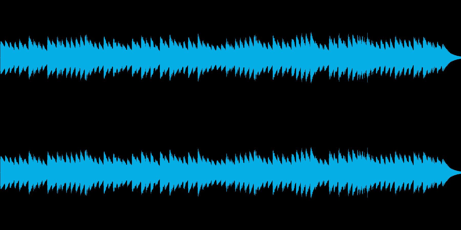 カヴァレリア・ルスティカーナのオルゴールの再生済みの波形