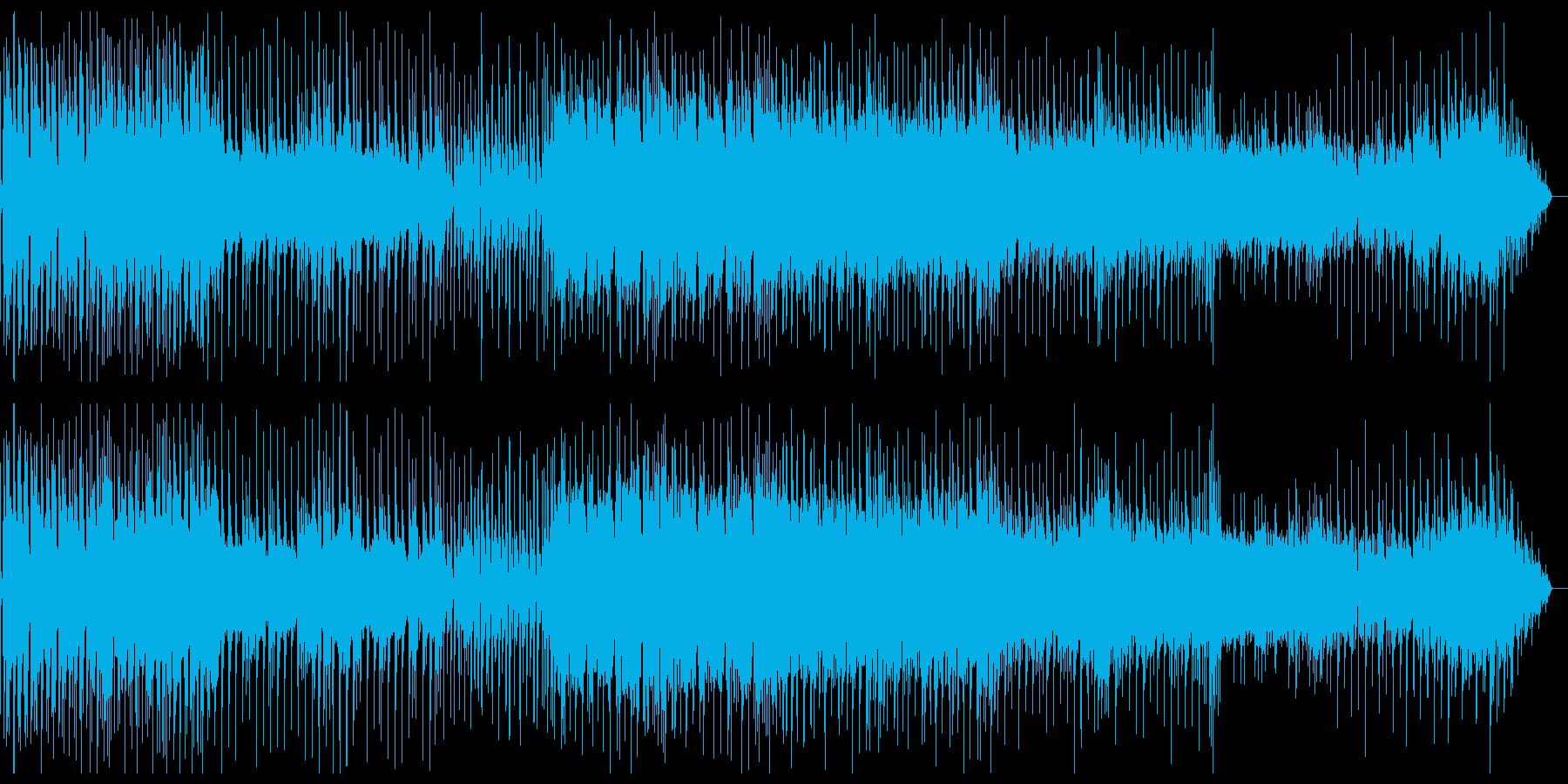 スローテンポなレトロウェーブの再生済みの波形