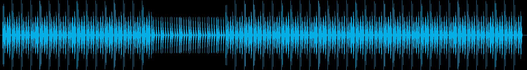 チープな電子音 インベーダー ゲーマーの再生済みの波形