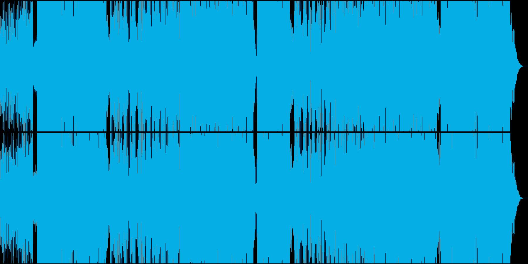 ほのぼのとした70'ダンスポップなEDMの再生済みの波形